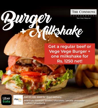 Burger+Milkshake