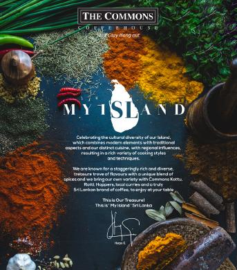 My Island- My Sri Lankan flavors